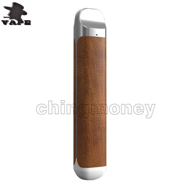 2018 nouveau kit de démarrage de cigarette électronique plat batterie intégrée cartouches d'huile épaisses portable vape e cig 100% original