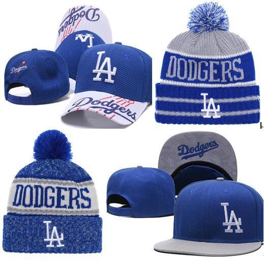 2019 LA Hat Snapback cap Champions LA beanie All Teams Men women Knitted Beanies Wool Hat Knit Bonnet Beanie Gorro Winter Cap