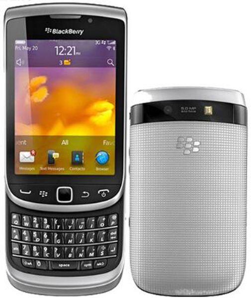 Original Desbloqueado Blackberry 9810 5MP WIFI bluetooth Teclado QWERTY 3.2 'Touch Screen Slider remodelado telefone