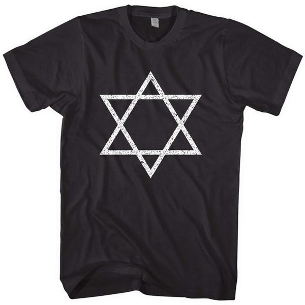 T-shirt Distressed Star of David di Mixtbrand