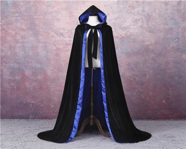 Черная + синяя подкладка