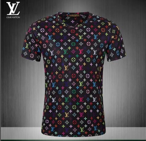 2018 nuovo design di moda per il tempo libero estate estate T-shirt a maniche corte stile di lusso di qualità @ 246