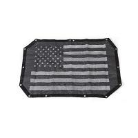 Black USA Flag