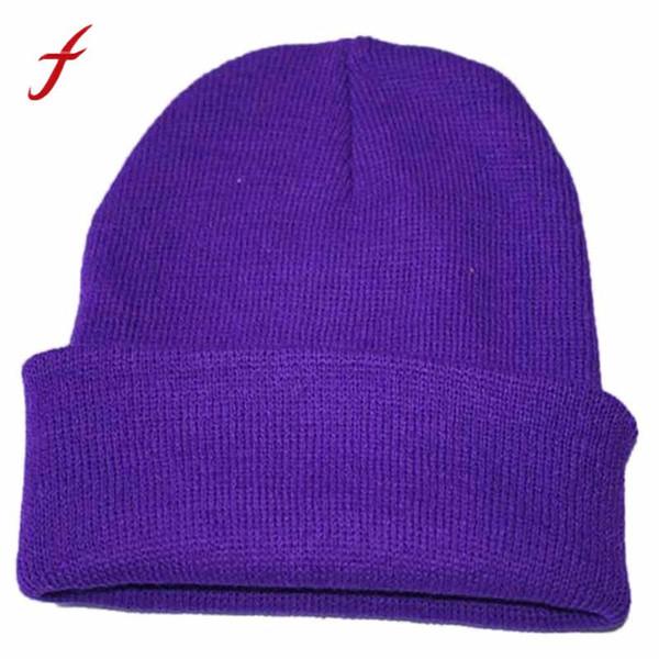2017 Winter Hat For Women And Men Slouchy Knitting Beanie Warm Winter Street Cap Warm Crochet Skullies Bonnet Hats Bone Gorros