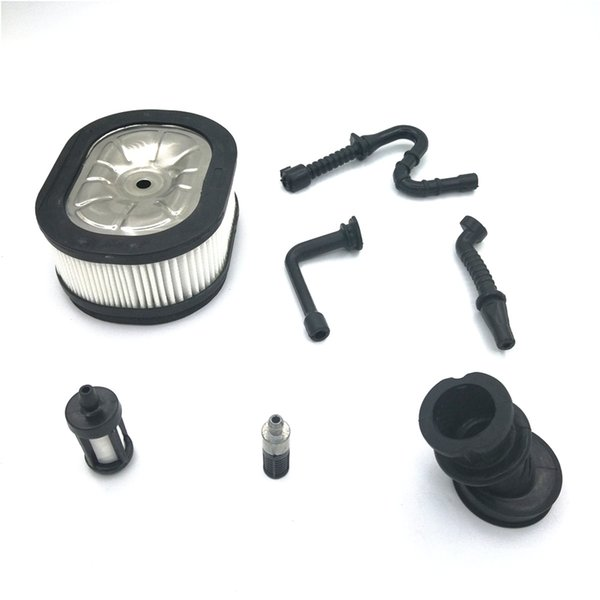 Fuel Line Filter Impulse Line Oil Line Intake Manifold Boot Air Filter for STIHL 044 046 MS440 MS460 Chainsaw