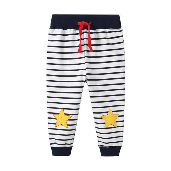 Sweatpants bebek erkek giysileri için sonbahar bahar karikatür baskılı 2018 moda çocuk giysileri pantolon bebek erkek pantolon giyim çocuk