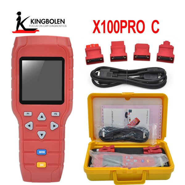 Promition OBDSTAR X-100 PRO X100 Pro Auto Key Programmer C Type for IMMO and OBD Software Function (C)IMMOBILISER+ OBD software