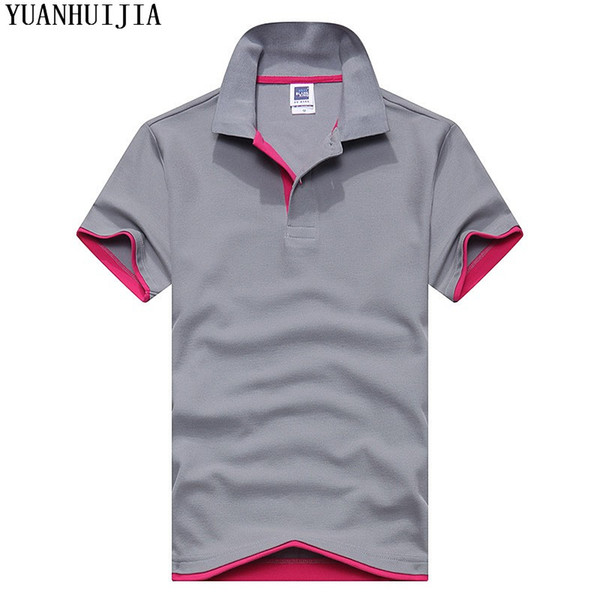 90bf84470 2016 New Mens Polo Shirt Fashion Brand High Quality Long short sleeves Polo  Shirt Camisa Polo