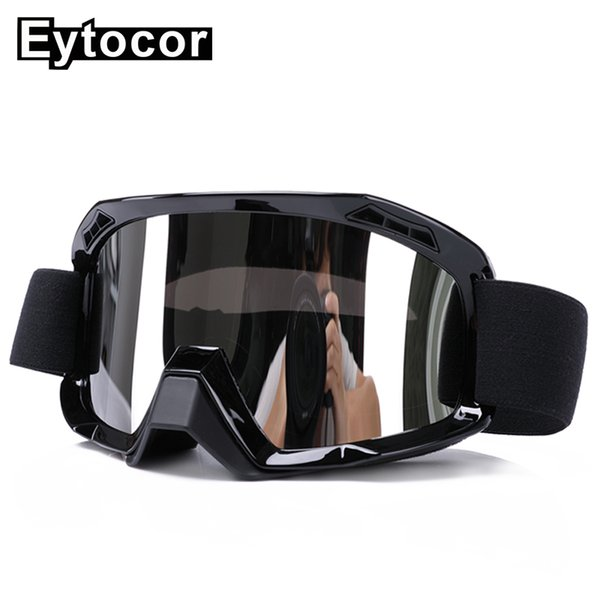 EYTOCOR Motocross Goggles Protective Glasses Helmet Racing Motorcycle Goggle Off-road Oculos Gafas Motorbike Dirt Bike ATV