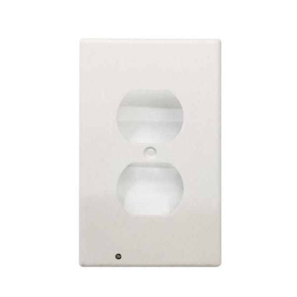 ICOCO LED Sensor Light Night Light LED Plug Cover Easy Snap On Wall Hallway Emergency Safety Lamps Sensor Switch Decor