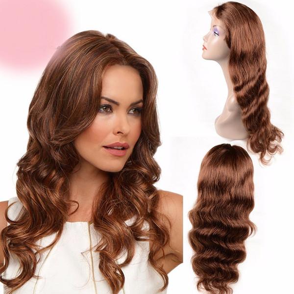 2018 aaaaaa long 100% unprocessed remy virgin human hair long #33 big curly full lace wig for women