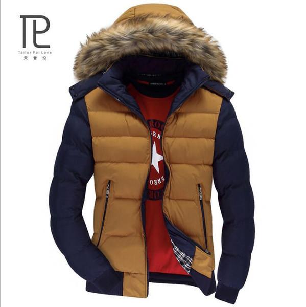 Marke Winter Jacke Männer Warmen Mantel Herren Freizeitjacken Männer Slim Outwear Verdickung Velvet Parka Homme Plus Größe XXXL Mäntel # b6