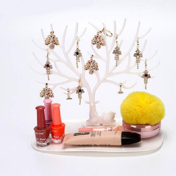 Earring/Necklace/Bracelet/Pendant Stand Display Rack Jewelry Holders Showcase Organizer tree shaped