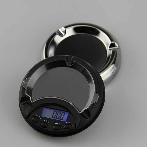 500g/0.1g 200g/0.01g balance electronic scale high precision ashtray style digital scale for gold diamond portable jewelry scale
