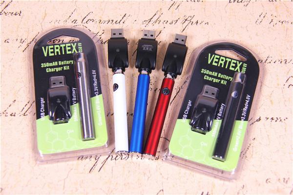 Preheating Kits Preheat Battery O Pen Variable voltage 4.1-3.9-3.7v Preheat 510 Thread Battery USB Individual Blister Pack Starter Kits