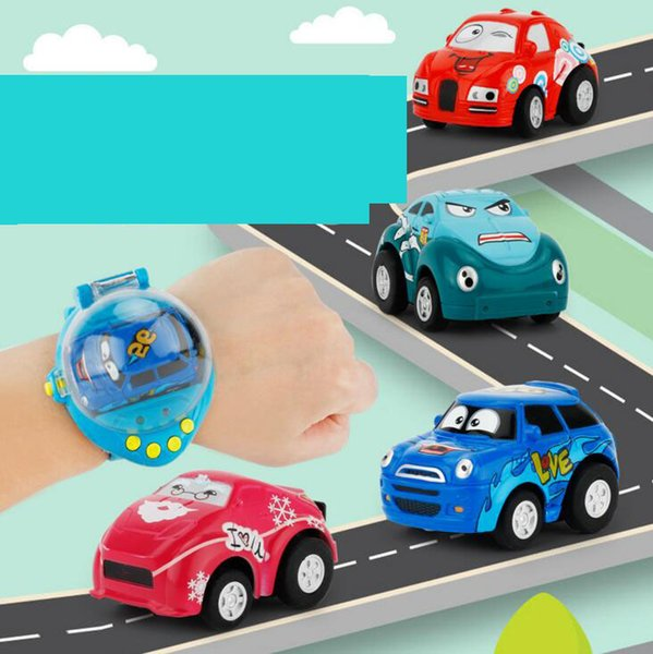 Baby Magic Toys Car Gravity Sensing 4CH RC Car Gesture Control Cars with Wearable Watch Controller 4 Colors Remote Control Car Gift for Kids