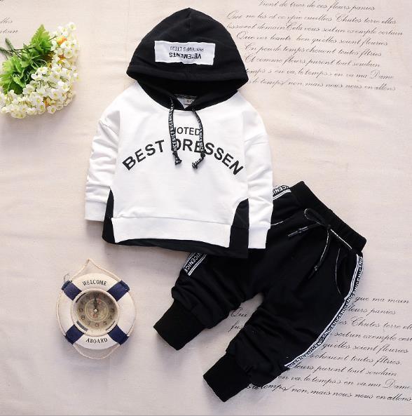 Bestselling yeni ilkbahar ve sonbahar eğlence baskısı 1-4 yaşındaki bebek giyim ceket uzun kollu uzun pantolon çocuk iki takım