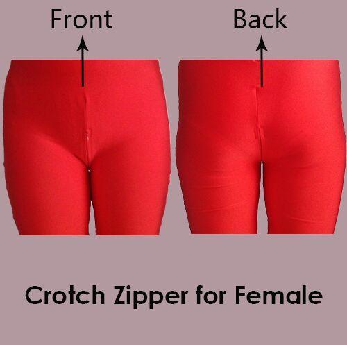 zipper for female