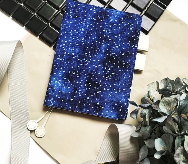 Good Night Stards Cloth Cover A6 Hobonichi Style Journal Cover Suit For Standard A6 Fitted Paper Book