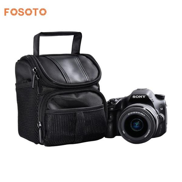 Fosoto Nylon Dslr Camera Bag Photo Case For Nikon D3400 D5500 D5300 D5200  D5100 D5000 D3200 For Canon Eos 750d 1100d 1200d 700d Cell Phone Parts  Store