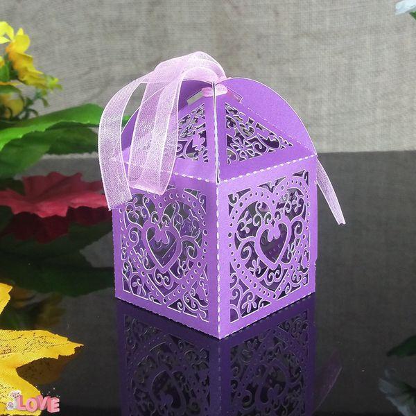 50pcs romantic candy gift box KWAYE Christmas party decoration candy box baby shower wedding decoration 6ZT34