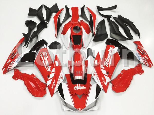 Kit carena moto custom fit adatto per Yamaha YZF R25 R3 YZFR3 YZFR25 2015 15 16 carene ABS fairing-kit Stampaggio a iniezione A132