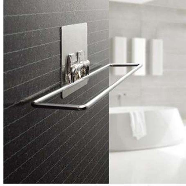 Grosshandel Kreatives Design Verchromt Metall Hause Nahtlose Vakuumsauger Handtuchhalter Badezimmer Handtuchhalter Handtuch Von Gandolfi 11 56 Auf