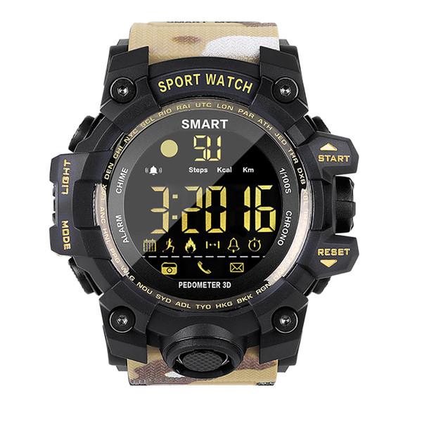 EX16S Sport Band Sport Watch Smart Bracelet Fitness Tracker Sleep Man Watches Tops Wrist Watch Men Fashion Male Clock Waterproof