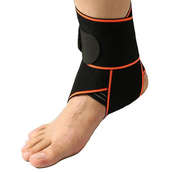 Unisex Running Basketball Sports Sprain Ankle Protector Guard Brace Foot Support