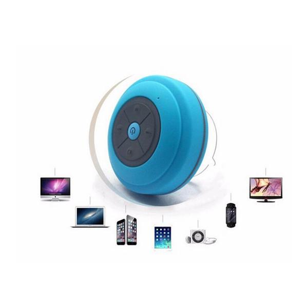 Mini subwoofer portatile doccia impermeabile Bluetooth senza fili Altoparlante vivavoce per auto Ricevi chiamata Musica Aspirazione Mic con confezione 120 pezzi