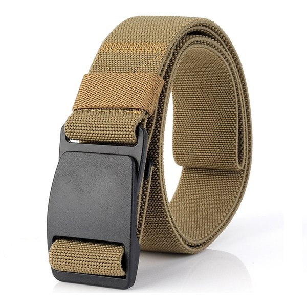 Plastic Buckle Canvas Belt Male Army Tactical Belt Men  Waist Nylon Belts Cummerbunds High Quality