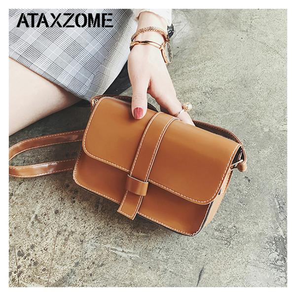 ATAXZOME Luxury Crossbody bags for women brand designer handbags PU messenger ladies hand Shoulder bags female clutch bolso Girl
