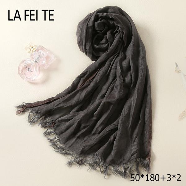 Winter Cotton Long Women Man Scarf Male Foulard Femme Neckerchief Luxury Tube Neck Crinkle Hijab Ladies Viscose Scarf Men 2018