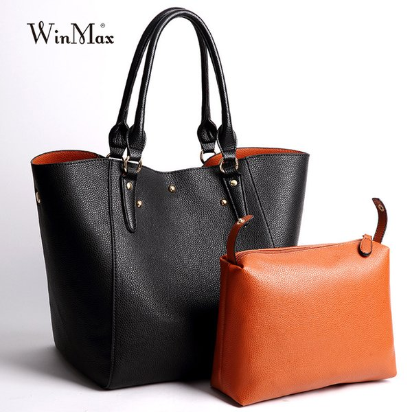 Luxury Brand Women Large Handbag Solid Patent Leather laptop Shoulder Bag Big Tote Multifunction Wristle Bag For young Mom gifts