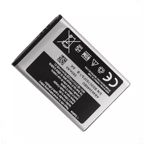NEW Cell Phone Battery AB463446BU For Samsung X208 B189 B309 F299 GT-E2652 C3300K 800mAh replacement battery