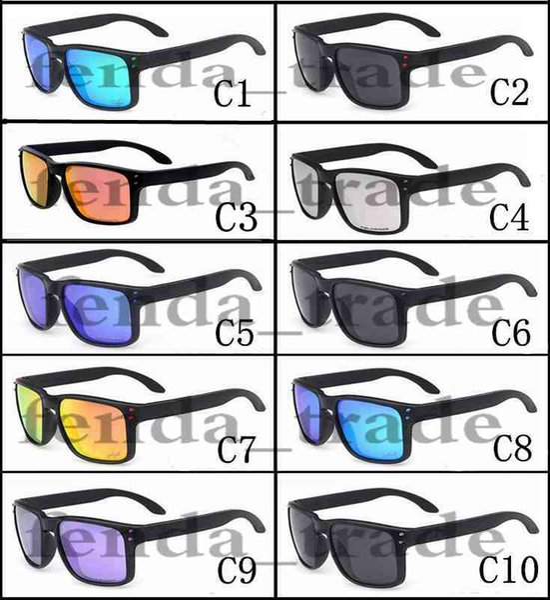 el más nuevo a82e8 3c02e Compre Promoción VENTA CALIENTE Marca Gafas De Sol Polarizadas Hombres  Mujeres Deporte Ciclismo Gafas Gafas Gafas 10 Opciones De Colores MOQ = 10  A ...