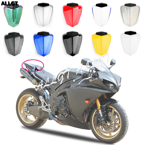 Motorcycle Rear Seat Cover Tail Cowl Solo Fairing Yellow Fit for 2009 2010 2011 2012 2013 YAMAHA YZF R1 09 10 11 12 13