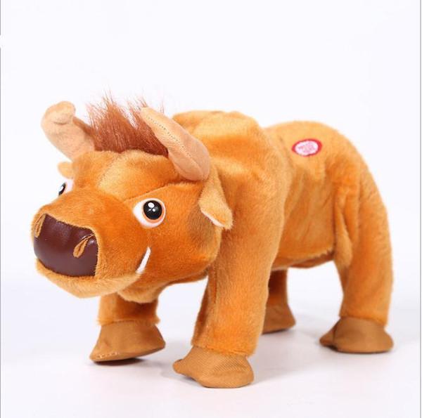 Brazil Fashion Child Holiday Birthday Walking and sing Dancing Bullfighting Kids Best Electronic Pet Robot Bull zoomer Cow