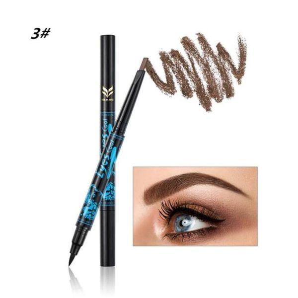 Multicolor Smooth Eyeliner Pen Long Lasting Quick Dry Waterproof Beauty Makeup Cosmetic Tool Sweat-proof Eye Line Pen