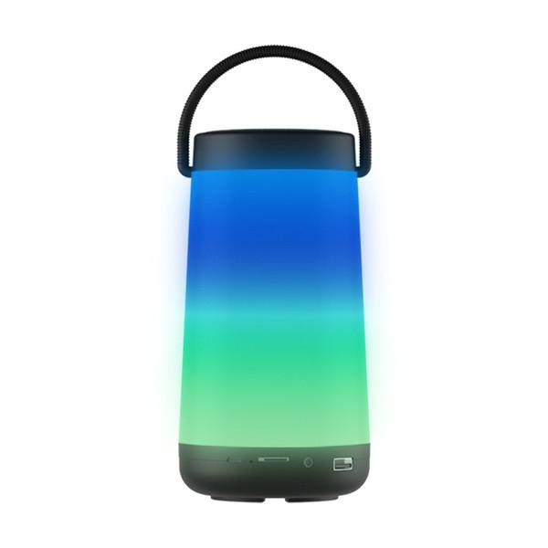 Lantern Portable bluetooth speakers mini Music pulse colorful led light portable Wireless bluetooth speaker light subwoofer sound