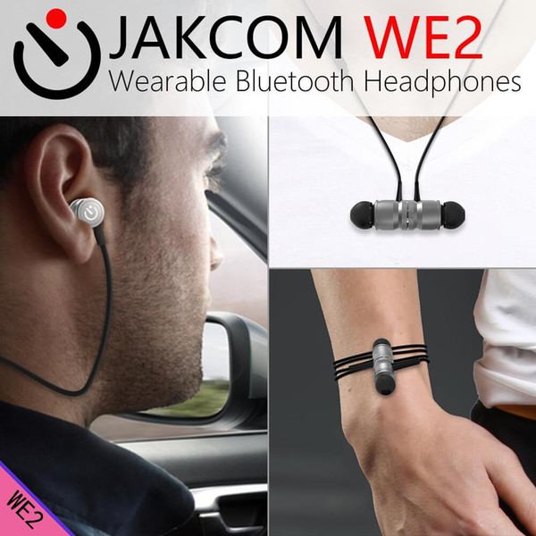 JAKCOM WE2 Wearable Wireless Earphone Hot Sale in Headphones Earphones as hindi mp3 ringtone automatic out tools silver cable
