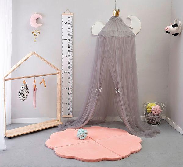 Großhandel 2018Nordic Runde Moskitonetz Kinderzimmer Dekoration Kreis  Baldachin Bett Valance Bett Moskitonetz Prinzessin Garn Von Curteney,  $53.34 Auf ...