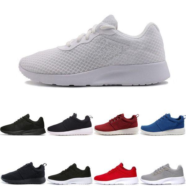 Tenis pas cher Chaussures de course pour homme London Soft TANJUN Maille Confortable triple noir blanc femmes Sportif sportif designer Sneaker 36-44