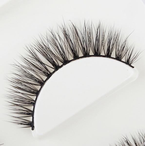 100% Handmade 3 pairs natural false eyelashes 3D Predesign fake lashes makeup kit 3D Real Mink Lashes eyelash extension extension nude makeu