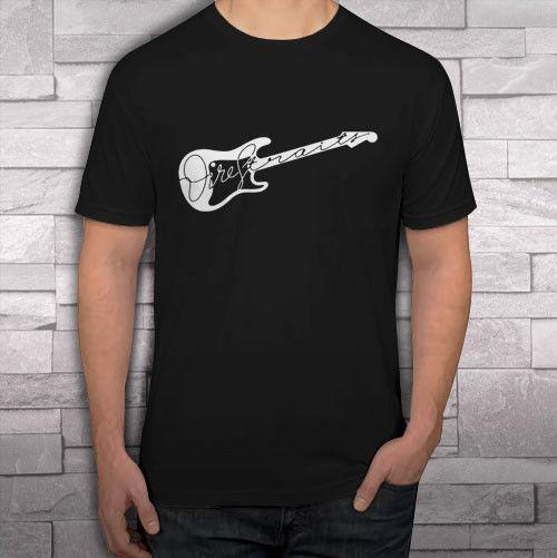 Dire Straits * Logo de guitare T-shirts noirs pour hommes avec tee-shirt tee S-2XL