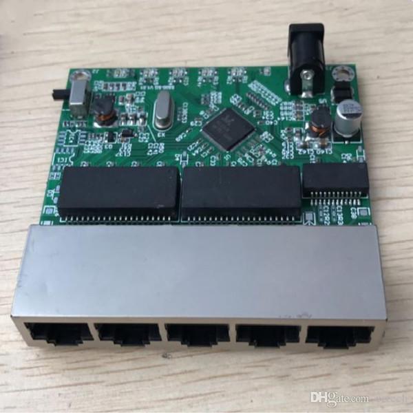 OEM soho plug n play mini 5 port 10 100 1000mbps gigabit ethernet vlan network switch module for embedded system integration