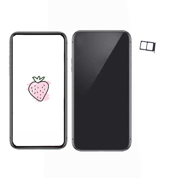 goophone x 1g ram 4g rom show 256GB 4g lte Unlocked Phone real 3G Smartphone Sealed