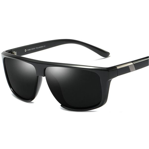Alta Qualidade Polarizada Óculos De Sol Dos Homens TR90 Fosco 2019 Condução Óculos De Sol para Homens Polarizados Uv400 Óculos Masculinos Com caixa NX