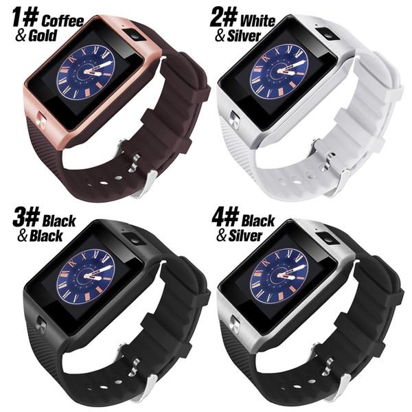 DZ09 Montre Smart Watch Dz09 Montres Bracelet Android Montre Smart SIM Intelligent Téléphone Mobile Etat de Veille Veille intelligente Retail Package