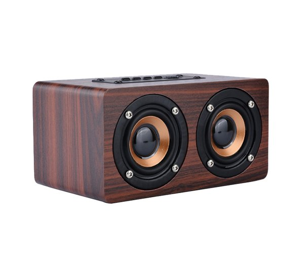 W5 explosion models wooden home Bluetooth speaker mobile gift customization wireless Bluetooth audio factory direct sales